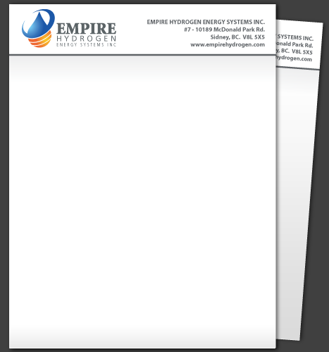 Print, Illustration: Empire Hydrogen Letterhead