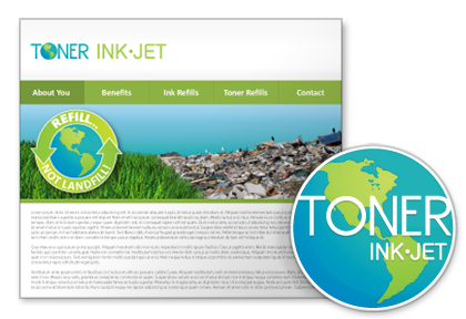 Toner Ink Jet | Company Logos, Web design, Business Card, Flyer and Signs.