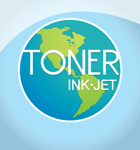 Logo Design, Illustration: Toner Ink Jet Globe Logo