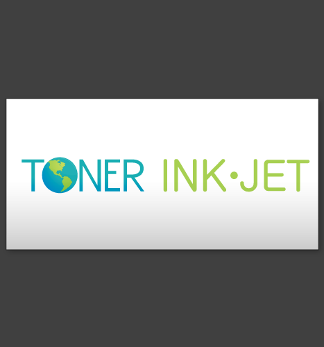 Logo Design, Illustration: Toner Ink Jet Textual Logo